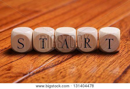 Start Word Concept