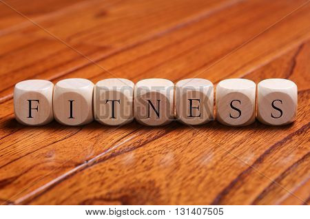 Fitness Word Concept