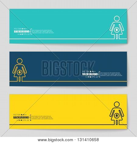 Abstract vector background. For web and mobile applications, illustration template design, business infographic, brochure, creative banner, presentation, poster, cover, booklet, document.