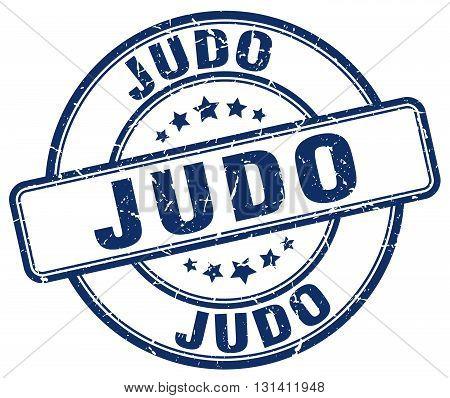 judo blue grunge round vintage rubber stamp.judo stamp.judo round stamp.judo grunge stamp.judo.judo vintage stamp.