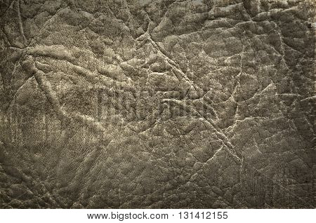old grunge dark leather for textured background