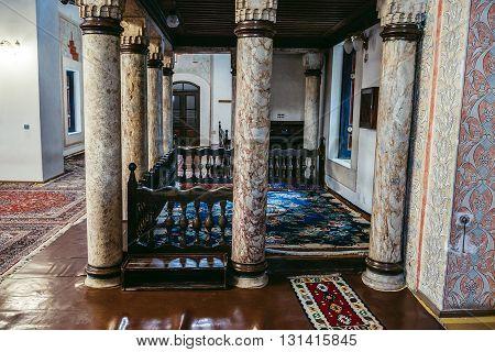 Gazi Husrev-beg Mosque in Sarajevo Bosnia and Herzegovina