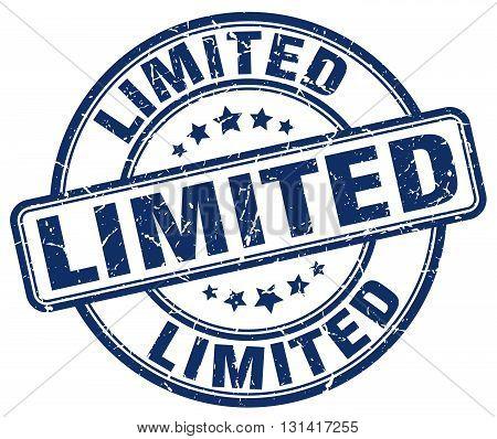 limited blue grunge round vintage rubber stamp.limited stamp.limited round stamp.limited grunge stamp.limited.limited vintage stamp.