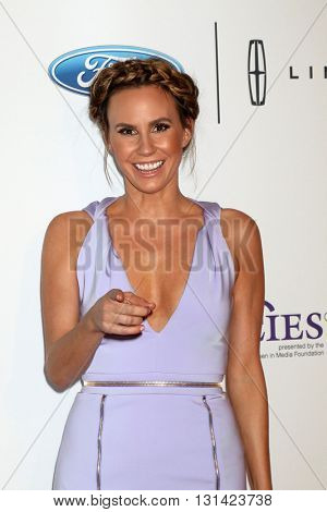 LOS ANGELES - MAY 24:  Keltie Knight at the 41st Annual Gracie Awards Gala at Beverly Wilshire Hotel on May 24, 2016 in Beverly Hills, CA