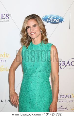 LOS ANGELES - MAY 24:  Natalie Morales at the 41st Annual Gracie Awards Gala at Beverly Wilshire Hotel on May 24, 2016 in Beverly Hills, CA