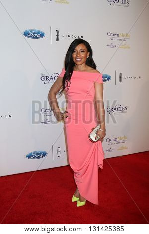 LOS ANGELES - MAY 24:  Shalita Grant at the 41st Annual Gracie Awards Gala at Beverly Wilshire Hotel on May 24, 2016 in Beverly Hills, CA