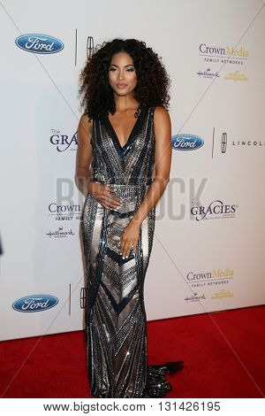 LOS ANGELES - MAY 24:  Lex Scott Davis at the 41st Annual Gracie Awards Gala at Beverly Wilshire Hotel on May 24, 2016 in Beverly Hills, CA