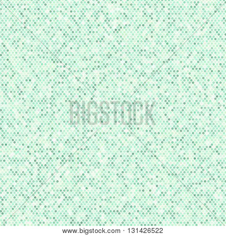 Comics Book Background. Green Halftone Pattern. Dotted Background