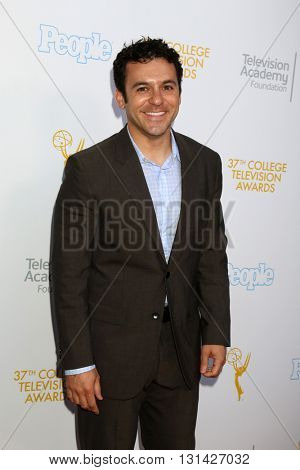 LOS ANGELES - MAY 25:  Fred Savage at the 37th College Television Awards at Skirball Cultural Center on May 25, 2016 in Los Angeles, CA