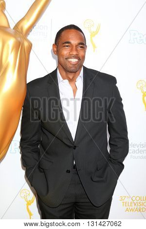 LOS ANGELES - MAY 25:  Jason George at the 37th College Television Awards at Skirball Cultural Center on May 25, 2016 in Los Angeles, CA