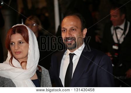 Asghar Farhadi  attends the 'The Salesman (Forushande)' during the 69th annual Cannes Film Festival at the Palais  on May 21, 2016 in Cannes, France.