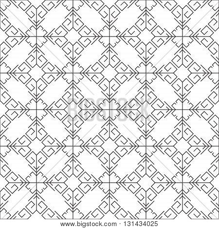 Vector color seamless geometrical pattern. Decorative vintage texture. Retro background for cards, invitations and others.