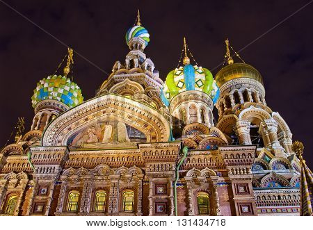 Church Of The Saviour On Spilled Blood (spas Na Krovi), St. Pete