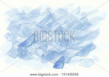 rough blue brushstroke abstract textures watercolor background