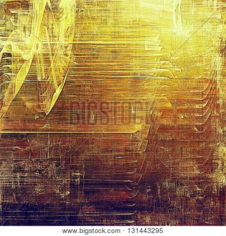 Old background with grunge decorative elements. Retro composition for your design. With different color patterns: yellow (beige); brown; red (orange); purple (violet); pink