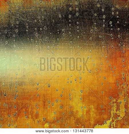 Abstract grunge weathered background of vintage texture. With different color patterns: yellow (beige); brown; red (orange); black
