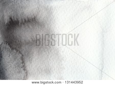 abstract black and white watercolor textures background
