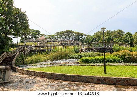 Terrace Garden in Telok Blangah Hill Park Singapore