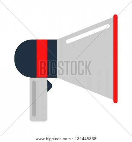 Megaphone icon vector illustration.