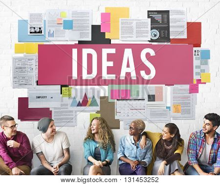 Fresh Ideas Action Thoughts Vision Proposal Concept