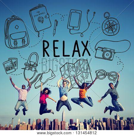 Travel Tourism Journey Relax Concept