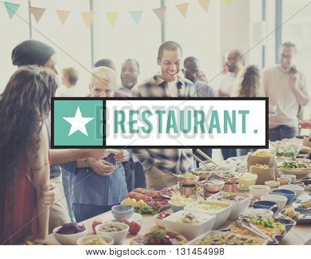 Restaurant Buffet Cafeteria Cuisine Culinary Concept
