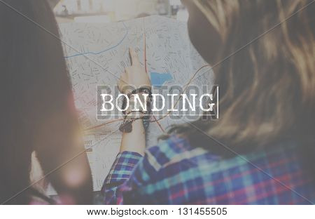 Bonding Relationship Connection Unity Community Concept