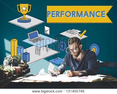 Performance Level improvement Efficiency Review Concept