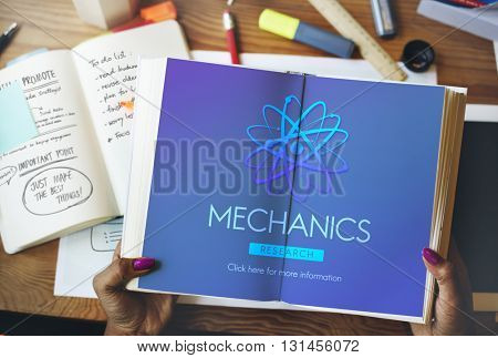 Mechanics Engine Automobile Maintenance Tuning Concept