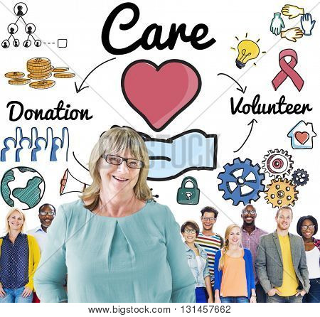 Care Support Security Welfare Hope Concept
