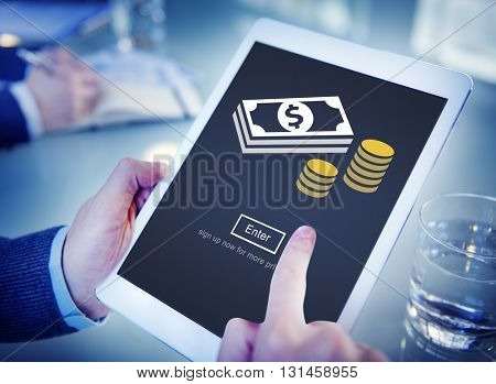 Money Currency Economy Financial Banking Concept