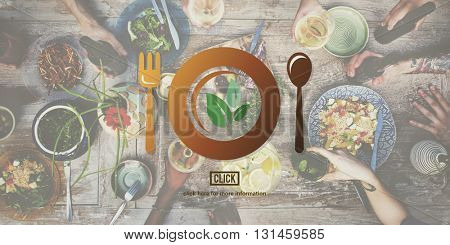 Nutrition Healthy Natural Food Diet Concept