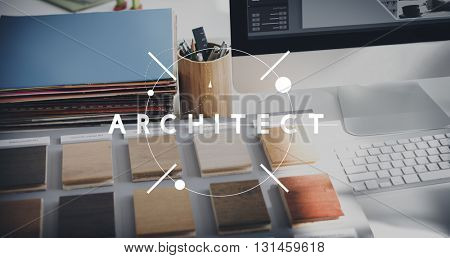 Architect Designer Engineer Creative Occupation Expertise Concept