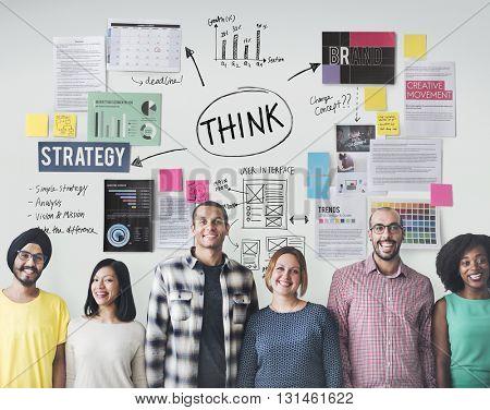 Thinking Determination inspiration Planning Concept