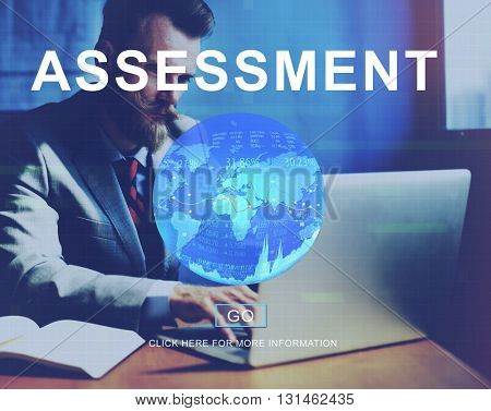 Global Business Worldwide Assessment Concept