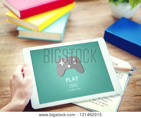 Play Activity Fun Happiness Joy Leisure Sports Concept