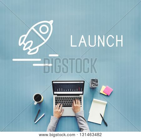 Launch Analysis Business Plan Release concept