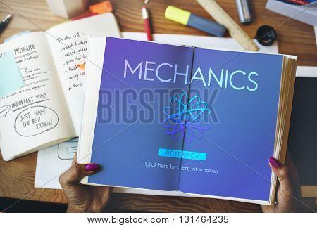 Mechanics Engine Automobile Maintenance Tuning Concept
