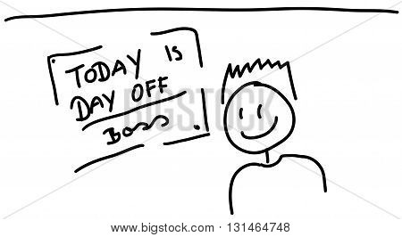Today Is Day Off