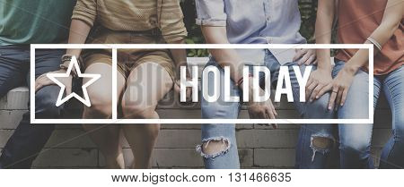 Holiday Vacation Relax Break Concept