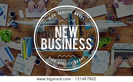 New Business Entrepreneurship Startup Planning Concept