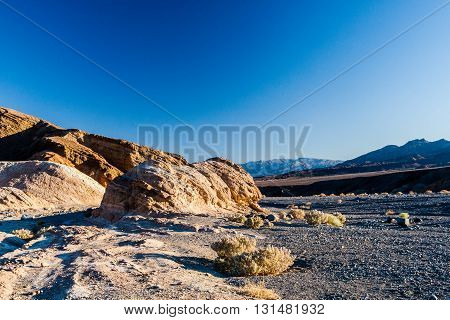 Sunrise At Zabriskie Point, Death Valley National Park, Usa