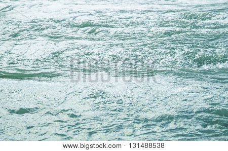 Water surface with ripples