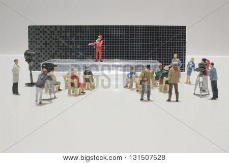 Figure Of Miniature World