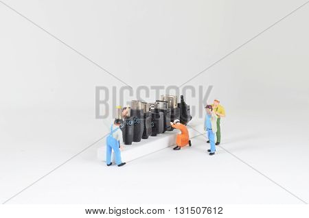 Concept Of Teamwork At Construction Site