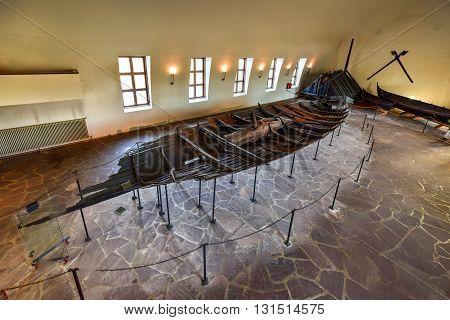 Viking Drakkar In Oslo< Norway
