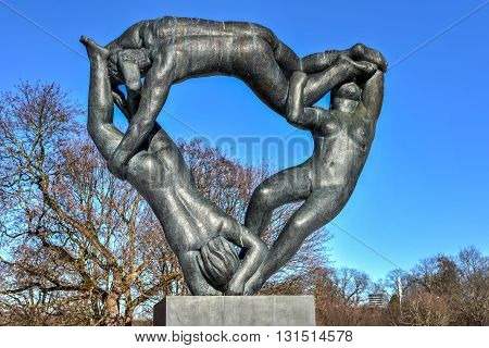 Vigeland Park Sculpture - Oslo, Norway