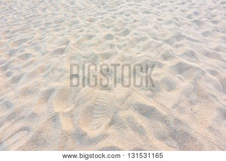 Abstract Sand Background From The Beach In Phuket ,andaman Sea, Thailand