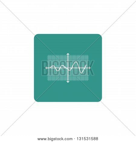 Line Square Icon In Vector Format. Premium Quality Line Square Symbol. Web Graphic Line Square Sign