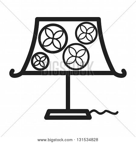 Lamp, table, night icon vector image.Can also be used for home. Suitable for mobile apps, web apps and print media.